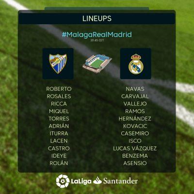 Ideye Starts As Malaga Lose At Home To Real Madrid