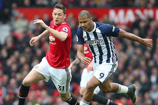 Mourinho Blames Man United's Players For West Brom Defeat