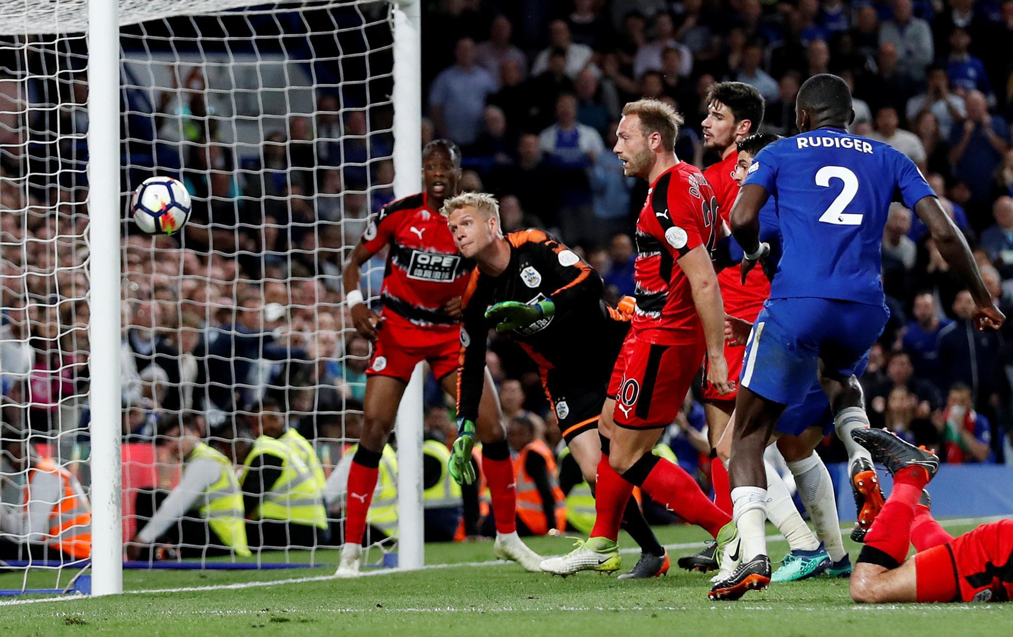 FA Fine Chelsea £20k For Players Misconduct Vs Huddersfield