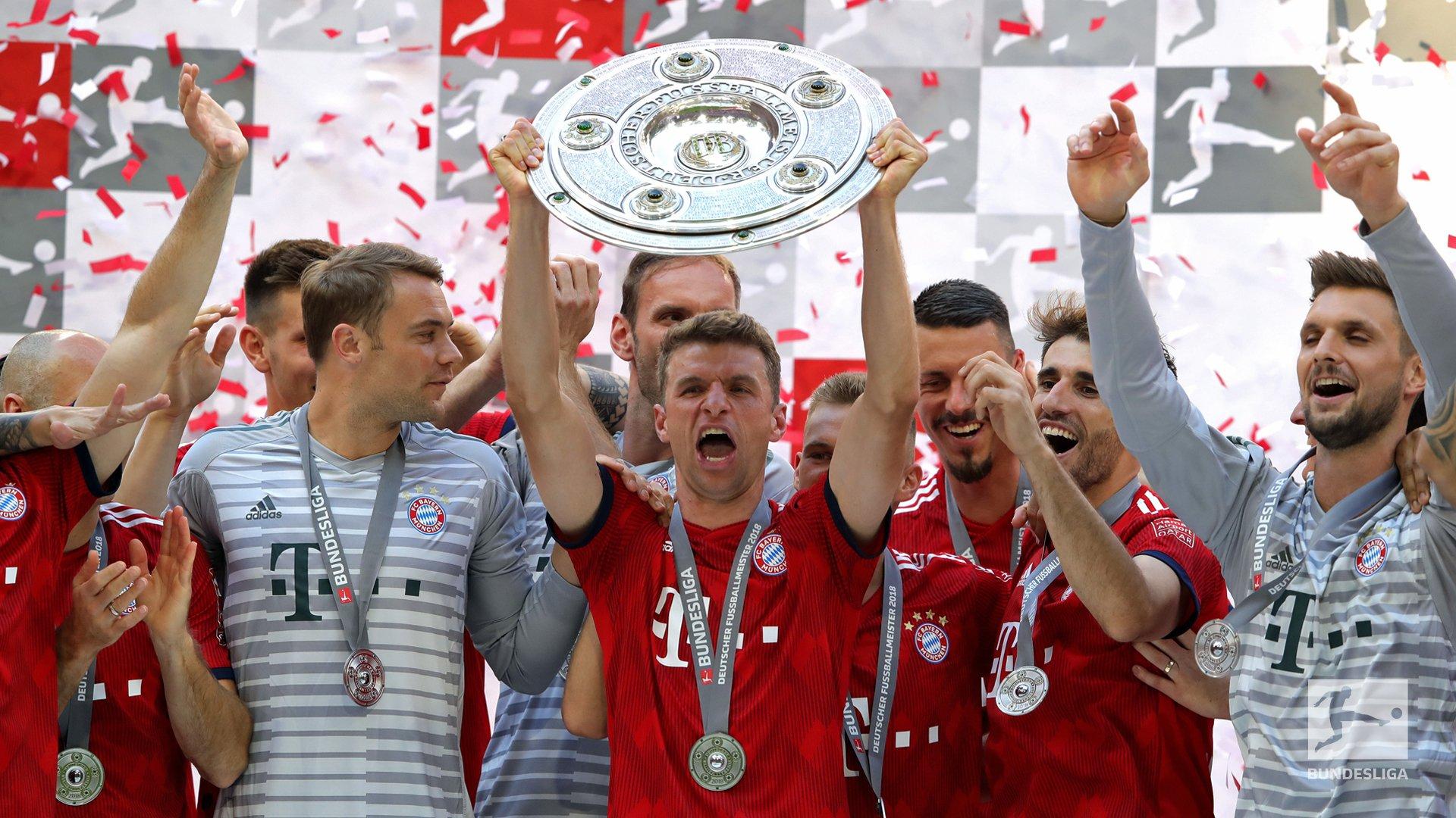Bundesliga: Bayern Crowned, Hoffeinheim Grab UCL Ticket; Osimhen's Wolfsburg Face Play-Offs, Hamburg Relegated