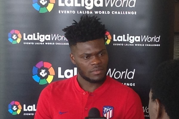 Partey: Atletico Madrid Never Underrated Tough Super Eagles Team