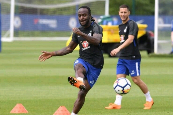 Moses Fired Up For Chelsea Trip To Newcastle