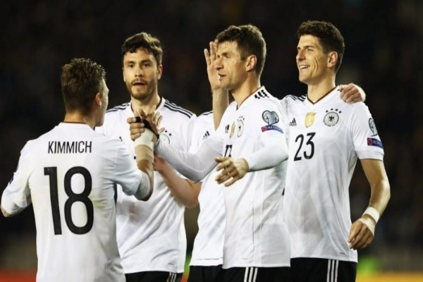 Germany reveal provisional squad for 2018 World Cup