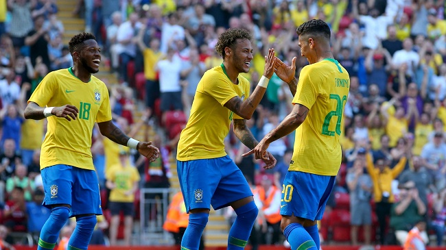 2018 World Cup: Brazil And Neymar Look For First Win Against Costa Rica