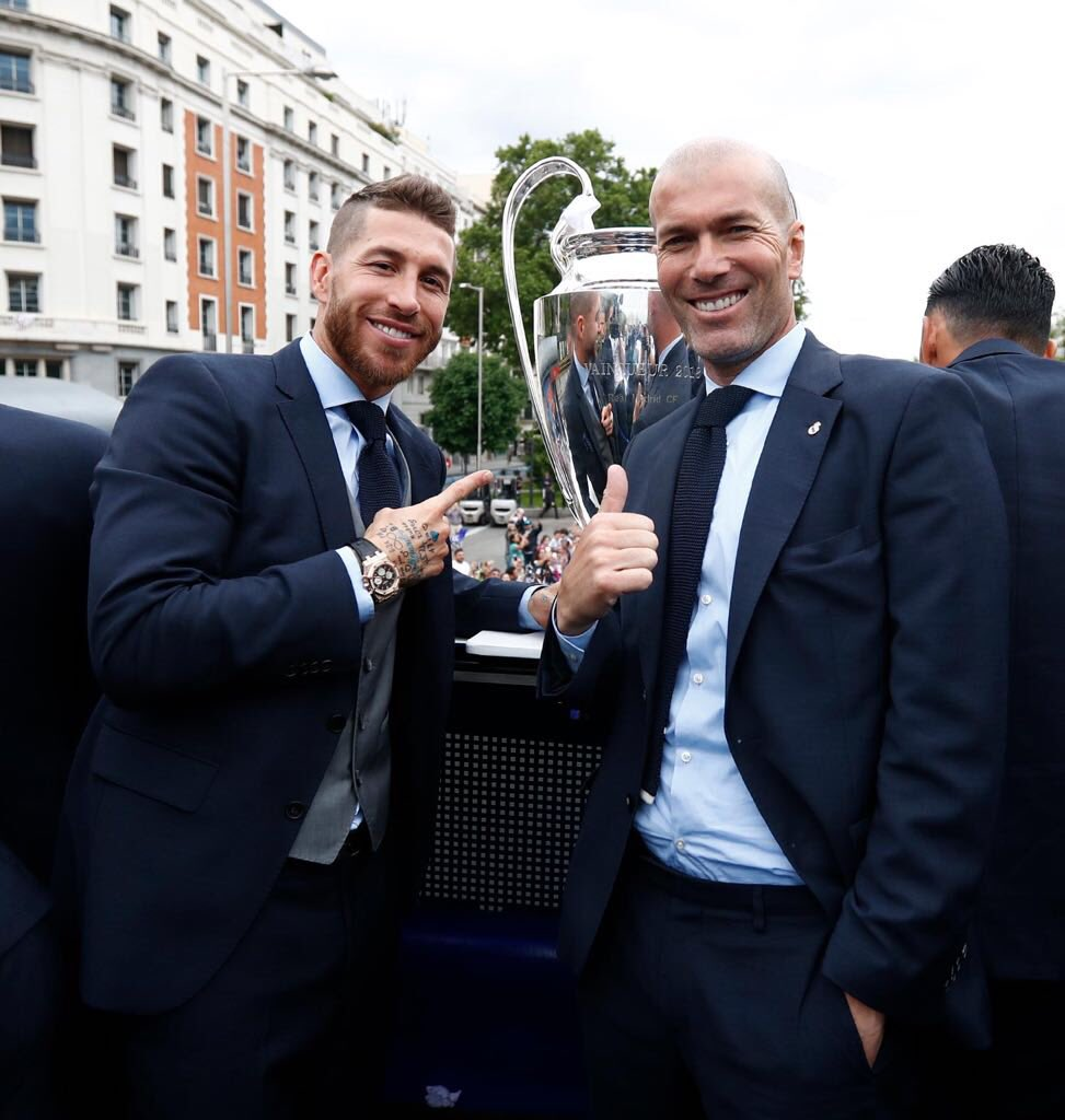 Ramos Changes Phone Number After Death Threats Over Salah Challenge