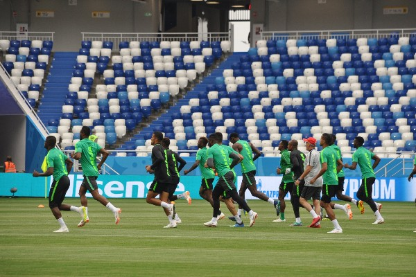 Super Eagles To Face Media, Train On Wednesday For Key Iceland Clash