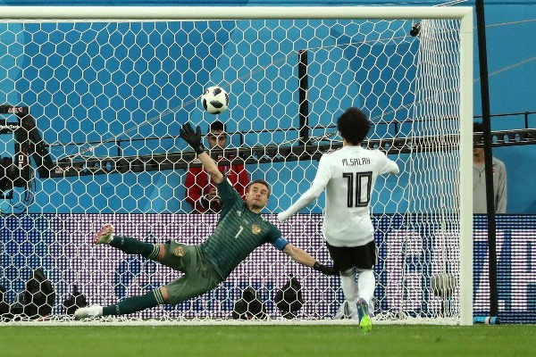 Egypt On The Brink, Lose To Russia Despite Salah Goal