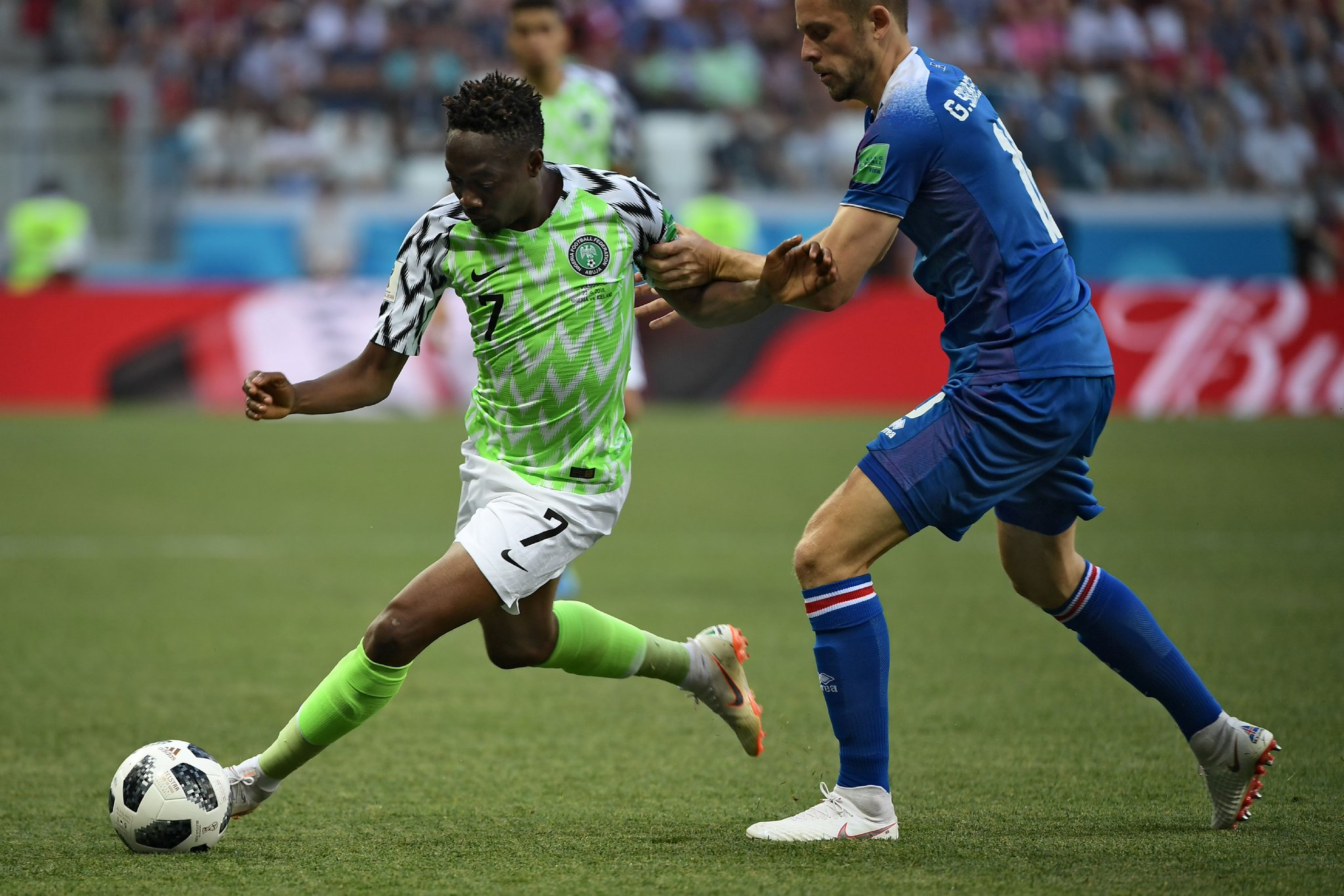 Musa Sets Goals Record As Super Eagles Fly Over Iceland