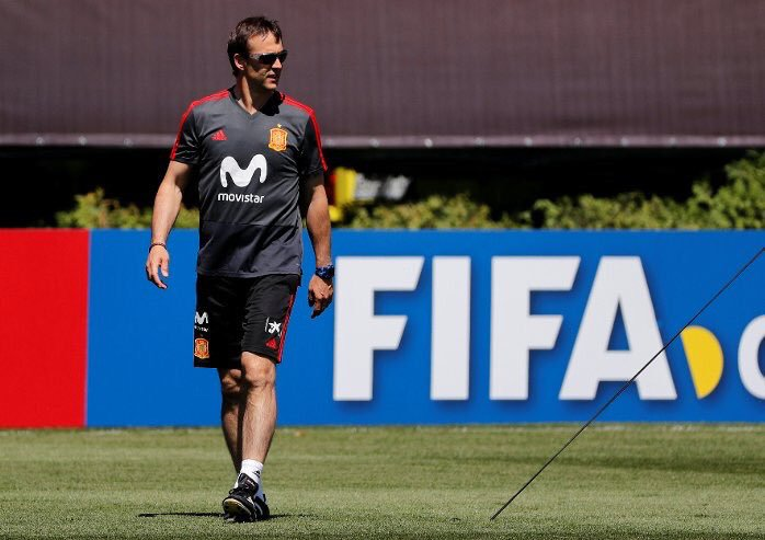 SHOCKER! Spain Sack Coach Lopetegui Days To World Cup