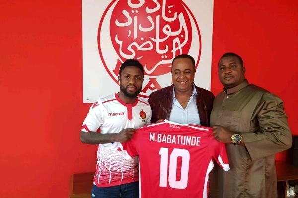 CAFCL: Babatunde Targets Official Home Debut, Win For Wydad Vs Sakin's Horoya