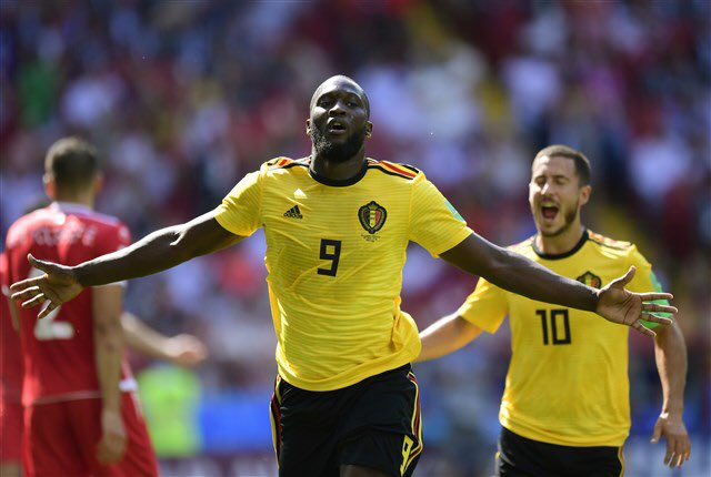 Lukaku Catches Ronaldo As Belgium Advance, Tunisia Crash Out