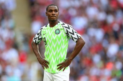 The Super Eagles are one day away from the start of their 2018 FIFA World Cup 2018 campaign. Completesportsnigeria.com's JOHNNY EDWARD a best XI, based on performances in recent friendly matches, in a potential 4-3-3 formation for the game against Croatia, barring any last minute change or injury... GOALKEEPER Francis Uzoho (Deportivo La Coruna, Spain) It's unfortunate that Francis Uzoho could only manage two appearances for the first team of Deportivo La Coruna before his move to the B team in the third division in Spain where he kept 15 clean sheets and conceded 17 goals in 26 appearances. Since his debut for Nigeria in their 4-2 international friendly win over Argentina last November, the 19-year-old has continued to grow in confidence and composure in goal for Nigeria. Though he has kept only one clean sheet in six appearances for Nigeria, Uzoho remains the best performing goalkeeper in the team at the moment. With Ikechukwu Ezenwa apparently no longer first choice and Daniel Akpeyi still not back to his very best, Uzoho remains a sure bet to be in goal for Nigeria. RIGHT-BACK Tyronne Ebuehi (Benfica, Portugal) With Shehu Abdullahi struggling to replicate the form that he showed in the qualifying campaign, Tyronne Ebuehi is ready to step in. The youngster, who just joined Portuguese giants Benfica, has been impressive in the pre-World Cup friendly matches and seized the opportunity to show he can dislodge Abdullahi if given the opportunity. Ebuehi covers the whole of the right flank energetically, doing his defensive duties diligently while contributing to the attack. LEFT-BACK Bryan Idowu (Amkar Perm, Russia) Bryan Idowu's inclusion in the Super Eagles squad has seen Elderson Echiejile drop to the bench following the Russia-based player's impressive performances. Idowu's hunger, pace and tireless runs down the left flank have seen him preferred to Echiejile who is in the twilight of his international career. The Amkar Perm defender has started in all games for 