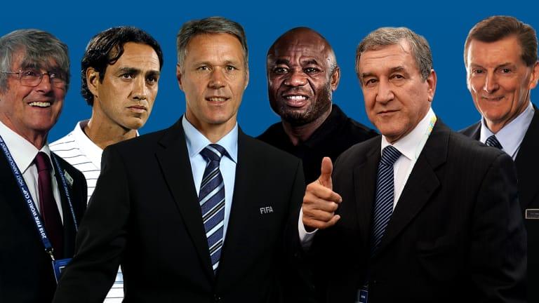 Ex-Brazil Coach Parreira Bosses Amuneke In FIFA's TSG Group