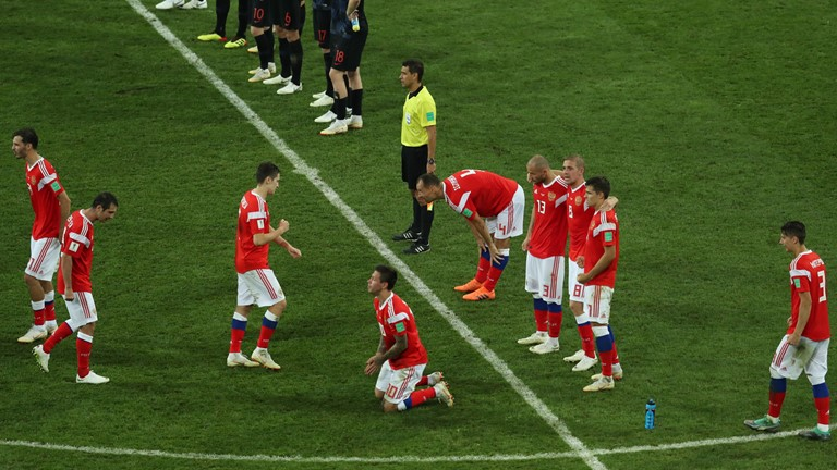 President Putin Congratulates Russian Team On World Cup Impact After Q-Finals Exit
