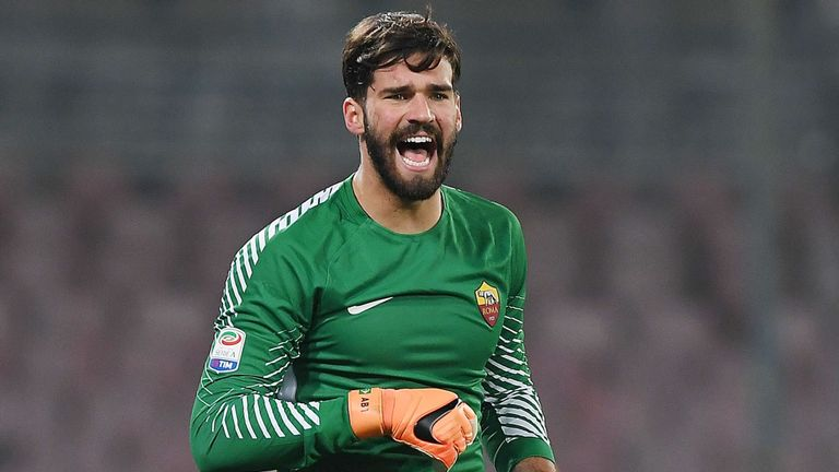 Liverpool Agree Record £67m Fee To Sign Brazil Goalie Alisson From Roma