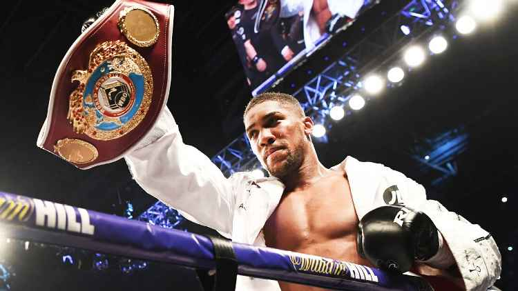 Joshua Vows To Take Out Povetkin And Go For Wilder