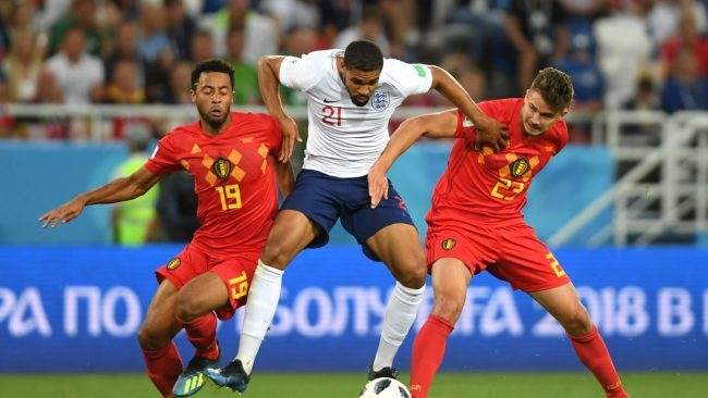 2018 World Cup: Belgium And England Meet In Third Place Play-Off