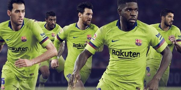 Barcelona Unveil New Away Kit For New Season