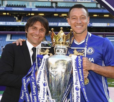 Terry Pays Tribute To 'Great Man, Great Manager' Conte