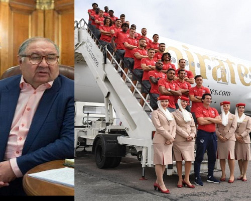 Russian Billionaire Usmanov Looks To Sell 30% Stake In Arsenal