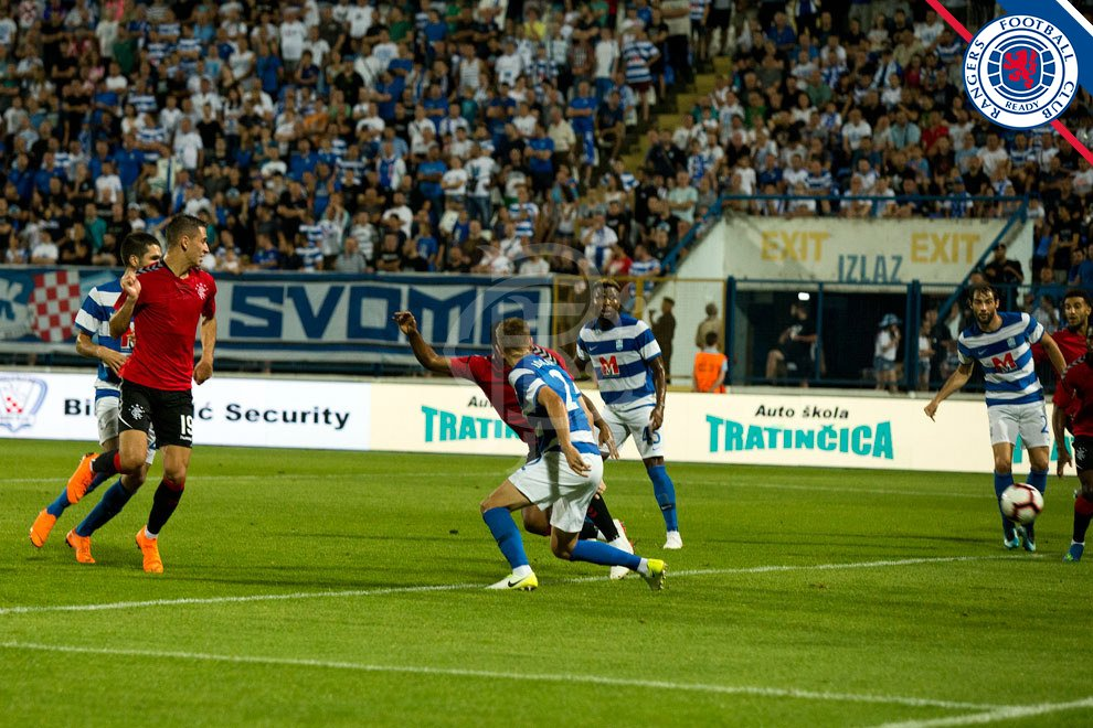 Europa League: Henty Fires Blanks As  Osijek Lose At Home To Glasgow Rangers
