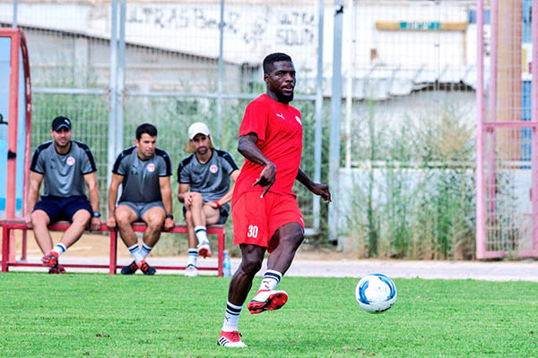 Ogu Starts Pre-season Training With Hapoel Be'er Sheva, Eager For Champions League Action