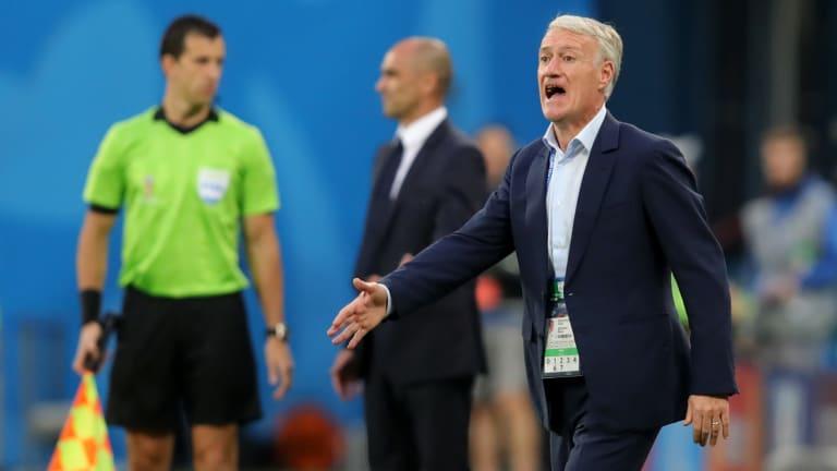 Deschamps Hails France Players' Winning Mentality Against Belgium