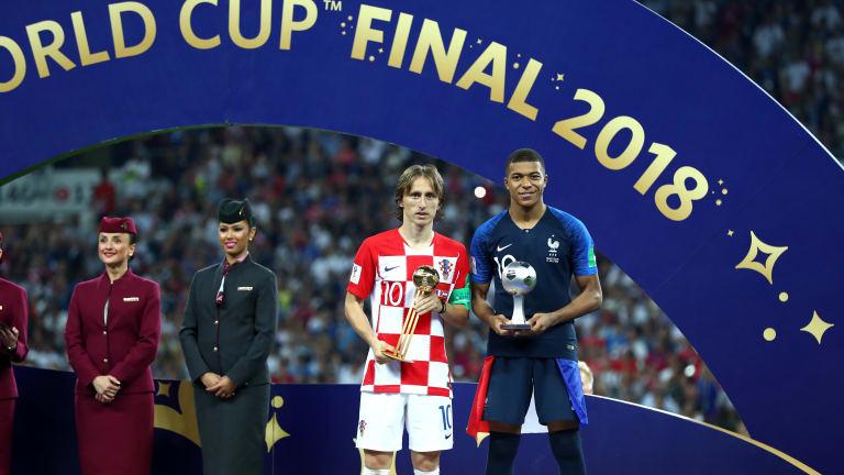 Russia 2018 Awards: Modric Named MVP, Kane Wins Golden Boot, Courtois Bags Golden Glove