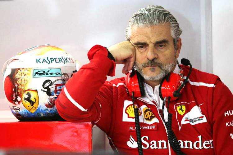 Mercedes Not Used To Pressure – Arrivabene