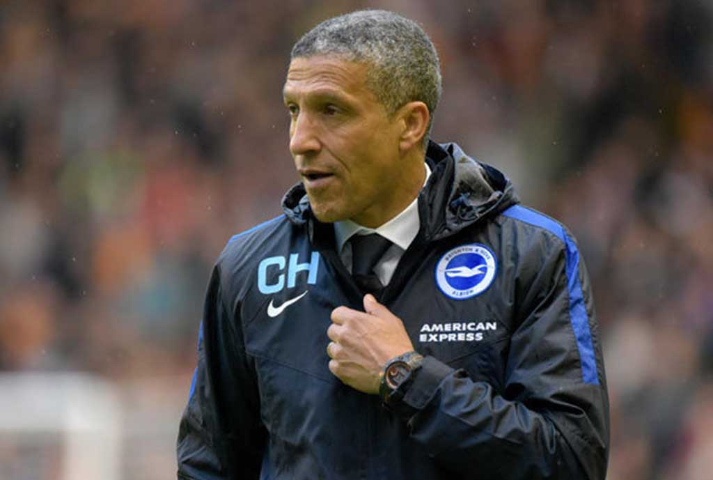 Hughton Sweating Over Trio