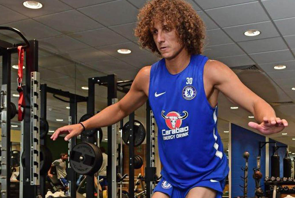 Luiz Admits To Enjoying Life After Conte At Chelsea