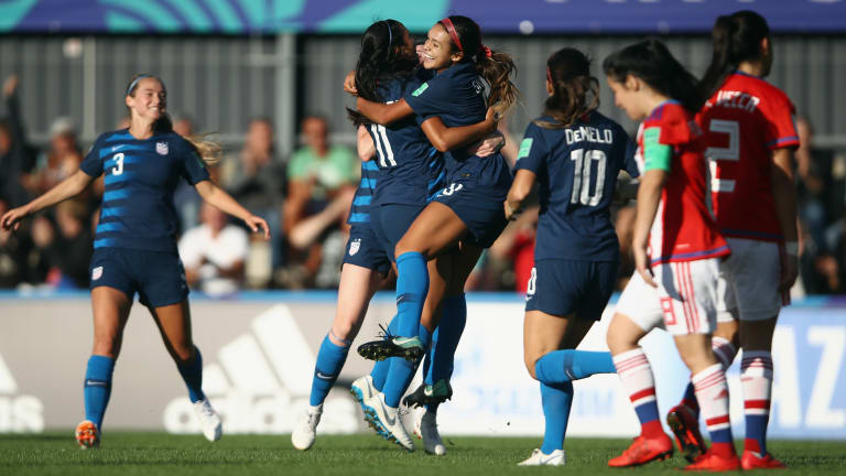 U-20 WW/Cup: Demelo Hits Hat trick As USA Trounce Paraguay 6-0