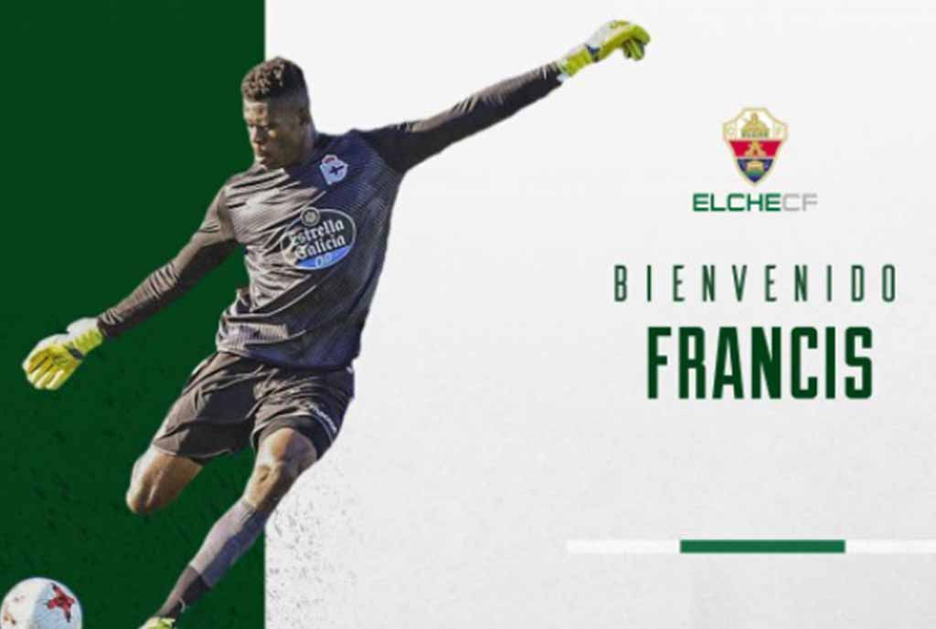 Uzoho Joins Spanish Segunda B Side Elche On One-Season Loan From Deportivo