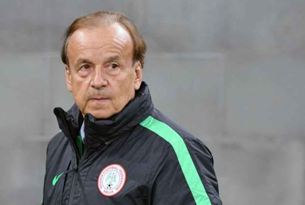 Rohr Inspects Ahmadu Bello Stadium, To Release Eagles List For Seychelles Clash Friday
