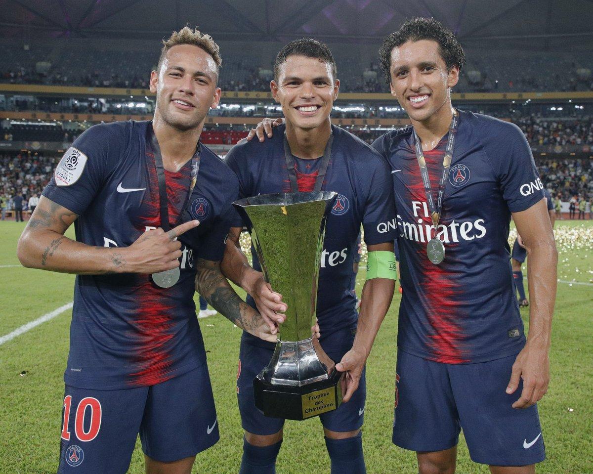 PSG Celebrate Massive French Super Cup Win Over Monaco