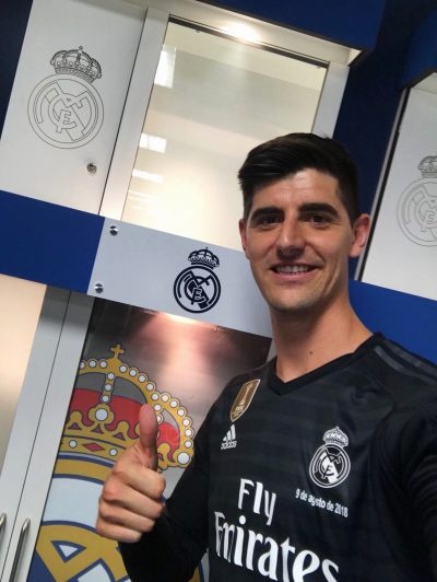 Courtois Happy To Join World Best Club Real Madrid