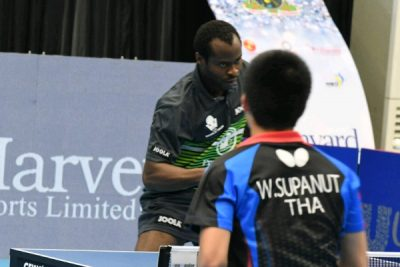 ITTF Nigeria Open: Aruna Reaches Men's Singles Final