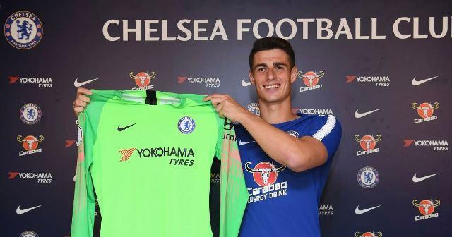 Chelsea Sign £72million Keeper Kepa