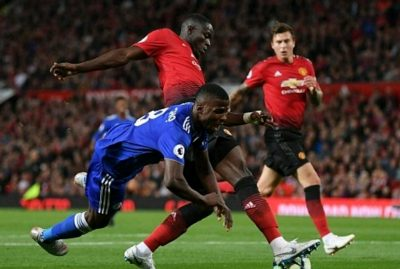 Ndidi, Iheanacho In Full Action As Pogba, Shaw's Goals Help United Past Leicester