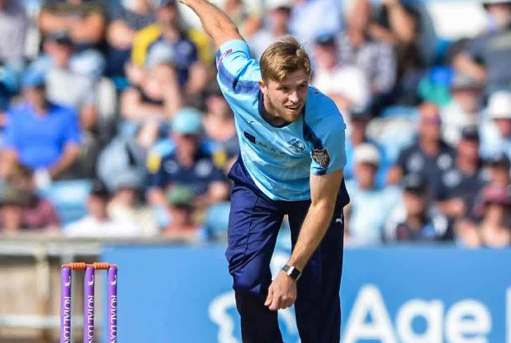 Yorkshire Announce Deal For Pillans