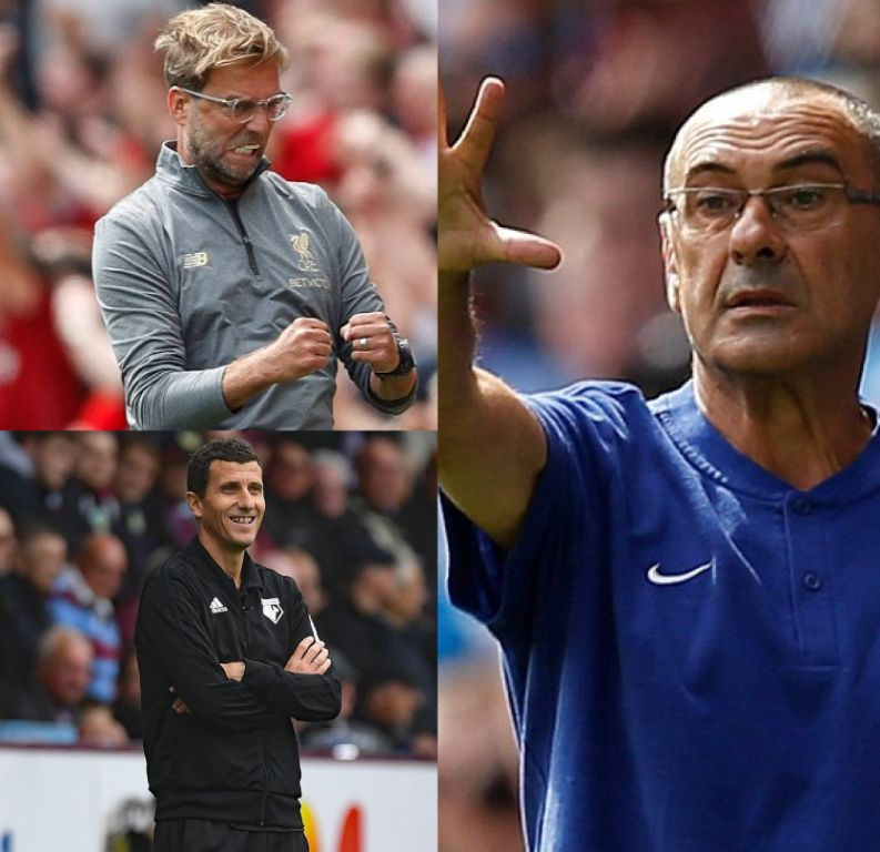 Sarri, Klopp, Gracia Nominated For EPL Manager Of The Month