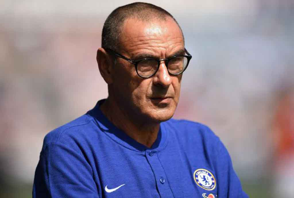 Sarri Cools Title Talk After Win