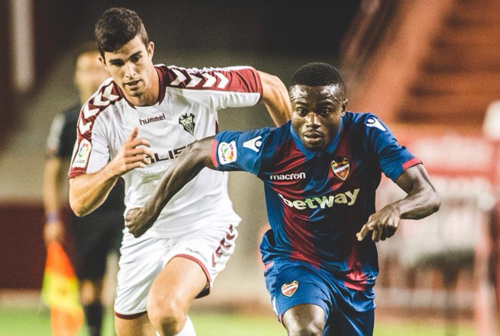Simon Excited To Make Levante Debut, Score In Penalty Shootout Win