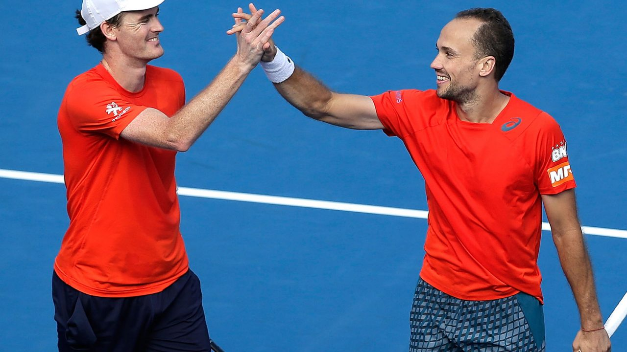 Murray And Soares Secure Cincy Doubles Win