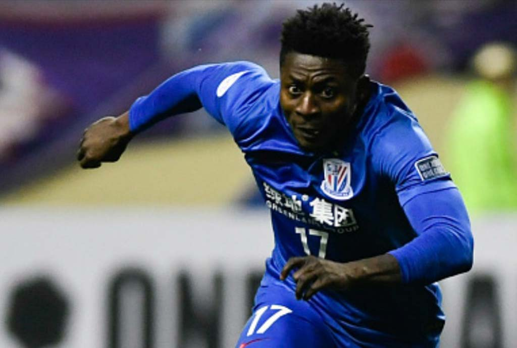 Injured Martins Starts Light Training In Lagos, Eager To Rejoin Shenhua