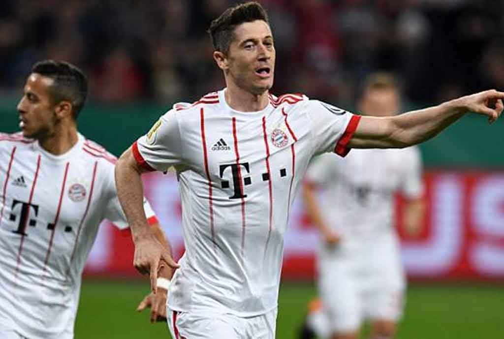 Lewandowski Slams Bayern Chiefs Over No Protection During Goal Drought