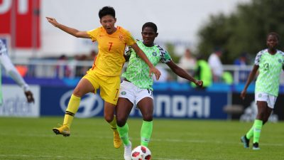 U-20 WWCup: Falconets Draw 1-1 With China, Reach Q-Finals
