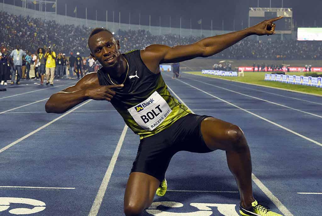 Sprint Superstar Bolt Set For Football Debut