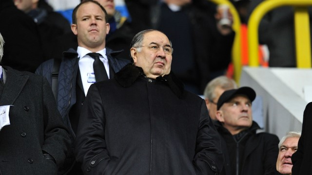 Usmanov To consider Everton Investment
