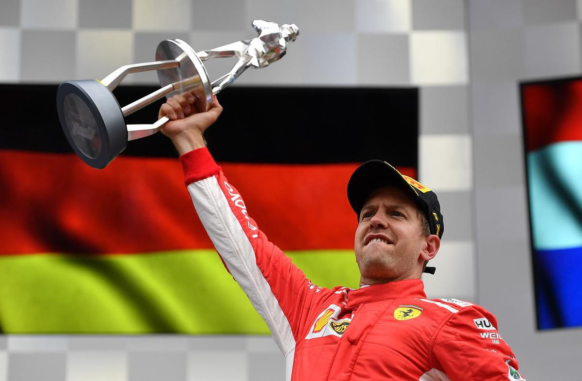 Vettel Eases To Belgian GP Win